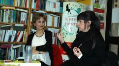Libreria Koinè, Sassari - con Anna Anolfo (foto di Victoria Moretti)