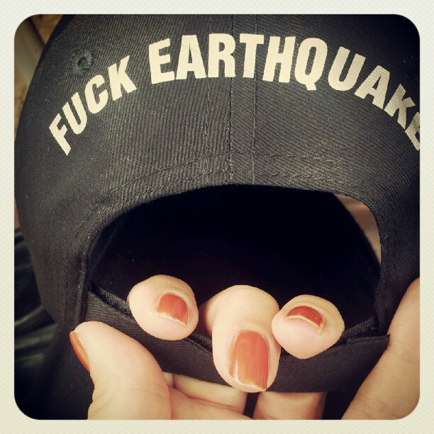 fuck earthquake