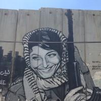 Layla Khaled in Bethlehem