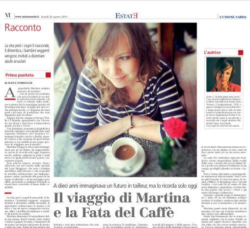 Quando le donne rinascono, lo fanno seriamente: la storia di Martina Gruppo, La Fata delCaffè