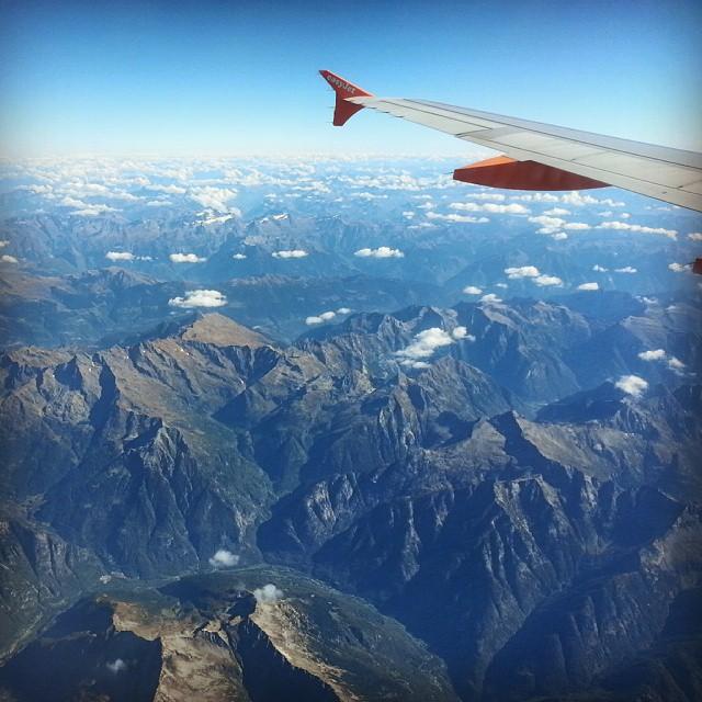 in volo verso parigi
